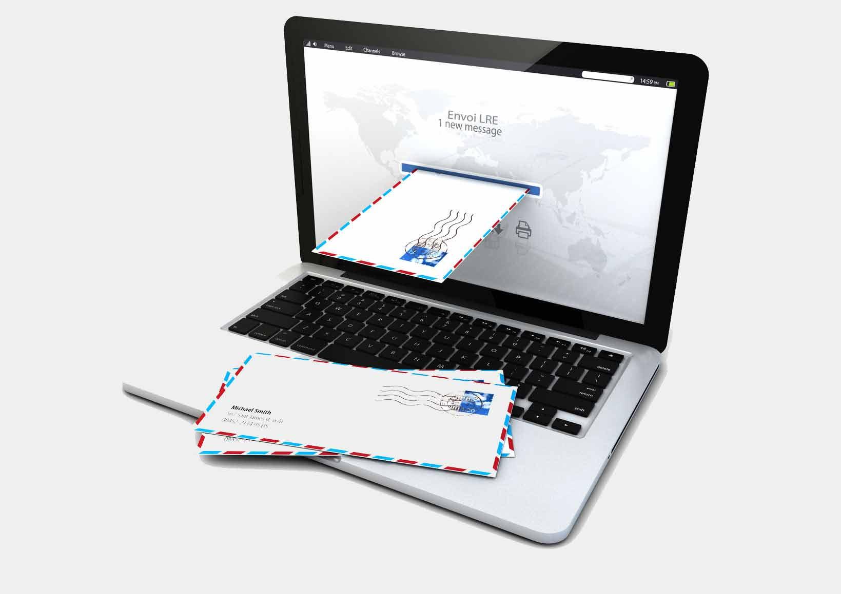 Externalisation de l'envoi de vos courriers recommandés électroniques